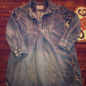 Polo Ralph Lauren girls denim adorable tunic